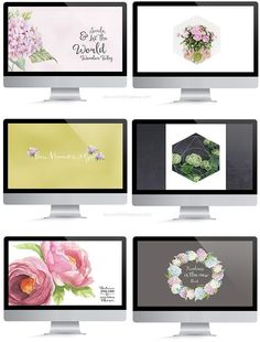 FREE Wallpapers [ Flower Theme ]. By Christina Greve. http://christinagreve.com/free-wallpapers-flower-theme/