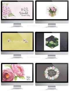 FREE Wallpapers [ Flower Theme ] - CHRISTINA GREVE