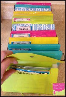 task card storage & organization
