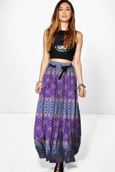 Waist Skirt, High Waisted Skirt, Paradise, Bohemian, Skirts, Beauty, Style, Fashion, Moda