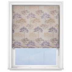 Elegant contemporary acacia tree design with the pattern giving a silk raised effect. Roman Blinds Direct, Lilac Grey, Kestrel, Tree Designs, Acacia, Summer 2016, Indigo, Kitchen Ideas, Contemporary