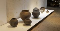 A Strong Gentle Presence: Pots by Nancy Fuller - The Watermill Gallery