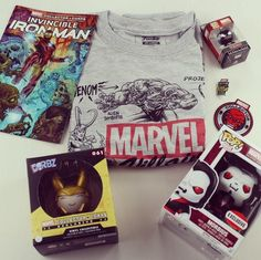 Marvel Collector Corps, $25   15 Wonderfully Nerdy Subscription Boxes Every Culture Vulture Will Adore