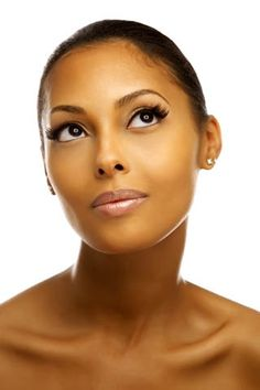 Great make up, African American women