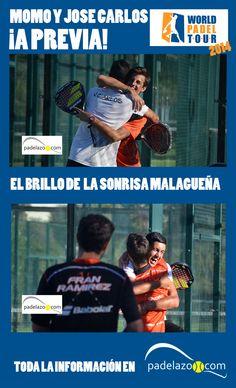 La historia de dos perlas del padel malagueño. José Carlos Gaspar y Momo González deslumbran en su tierra. Los dos juniors, con 17 años, alcanzan la previa del World Padel Tour Málaga.