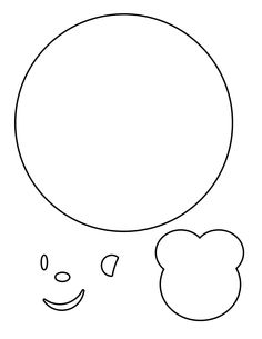 Printable Baby Rattle Template from PrintableTreats.com