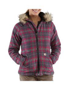 I want this jacket  Women's Camden Plaid Wool Jacket