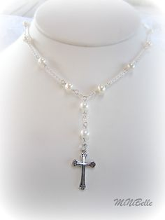 silver god com initial birthstone necklace gift or confirmation dp baptism first cross sterling amazon daughter communion
