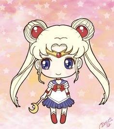 Chibi Sailor Moon by DeadPeppermint.deviantart.com