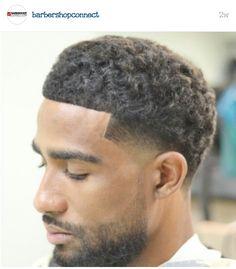 Black Boys Haircuts, Hot Haircuts, Black Men Hairstyles, Dope Hairstyles, Fresh Haircuts, Beard Haircut, Fade Haircut, Curly Hair Cuts, Curly Hair Styles