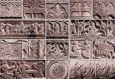 Armenian cross-stone ornaments from julfa cemetery - The Armenian cemetery in Julfa was a medieval-era cemetery near the town of Julfa, Nakhchivan