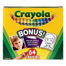 Discount School Supply - Crayola® 64 Crayons