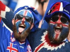 So many great fans at Euro 2016, but Iceland fans are way up there. 10% of the population is estimated to have travelled to France!