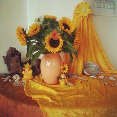 Seizoenentafel zonnebloemen