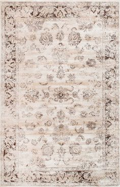 Crafted from easy-to-clean yarn, this machine-made rug is made up of 100% viscose material that adds a touch of beauty and flair to your room. The indoor rug is designed to match with almost any décor and works well for living room, dining area as well as the bedroom.