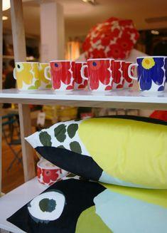 Marimekko Celebrates 50 Years of Unikko Floral Fabric, Floral Prints, Marimekko, 50th Anniversary, Bold Colors, Print Design, Centerpieces, Product Launch, Apartment Therapy