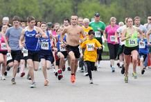 The Barboursville Lions Club hosted its first Celebrity 5K Run and Walk.