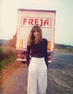 Freja Beha Erichsen by Cass Bird for UK Vogue January 2014