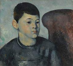 Paul Cézanne – Portrait du fils de l'artiste, 1881/82; Huile sur toile, 38x38 cm | Musée de l'Orangerie