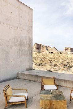 The best places to go for a girls trip: Amangiri, Utah. Interior Exterior, Home Interior, Amangiri Resort, Amangiri Utah, Outdoor Living, Outdoor Decor, Outdoor Seating, Outdoor Life, Outdoor Ideas