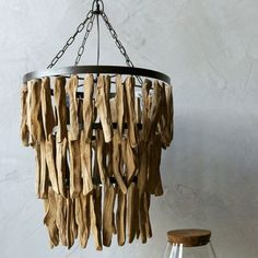 Simply-Natural-Driftwood-Chandelier- Coastal Chandeliers and Pendants