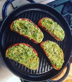 We like your toast style, Grilled ciabatta with garlic clove, avocado, salt, cracked pepper on Slow Cooker Recipes, Crockpot Recipes, Vegan Recipes, Cooking Recipes, Food Obsession, Greek Recipes, One Pot Meals, Food Videos, Food To Make