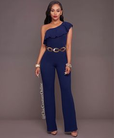 Very Chic! www.ChicCoutureOnline.com Search: JUMPSUIT: Adriel BELT: Lyzza  #fashion #style #stylish #love #ootd #me #cute #photooftheday #nails #hair #beauty #beautiful #instagood #instafashion #pretty #girly #pink #girl #girls #eyes #model #dress #skirt #shoes #heels #styles #outfit #purse #jewelry #shopping