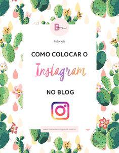 Como colocar o instagram no blog