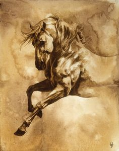 Baroque Horse Series III-I