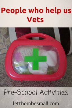 People who help us - Vets activities for pre schoolers Eyfs Activities, Nursery Activities, Preschool Activities, Preschool Ideas, Community Jobs, Community Helpers, Creative Curriculum, Creative Activities, People Who Help Us