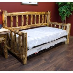 Beartooth Aspend Log Daybed | Aspen Log Daybed