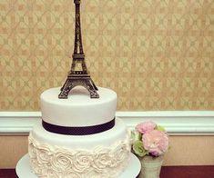 Paris Birthday Cakes, Paris Themed Cakes, Paris Themed Birthday Party, Paris Cakes, Themed Birthday Cakes, Paris Party, Lps Cakes, Cupcake Cakes, Parisian Cake