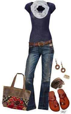 """Pinner Inspired"" by tmlstyle on Polyvore @Nyssa Brown Brown Castle thanks for the inspiration :)"