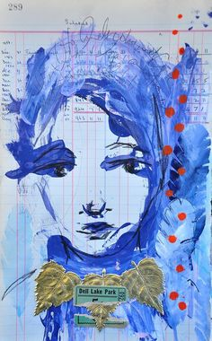 Dina jbs nov 02  - dinastamps - ponderings - © Dina Wakley