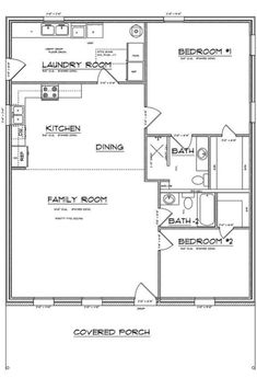 Barn House Plans, Small House Plans, House Floor Plans, Modular Home Floor Plans, Barn Plans, Living Room Floor Plans, Bathroom Floor Plans, Metal Building Kits Prices, Metal Building Homes Cost