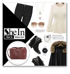 """""""shein"""" by anyasdesigns ❤ liked on Polyvore featuring мода, Indigo Collection, Tom Ford, Panacea, Qupid, Nixon, Sheinside и shein"""