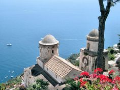 view from Ravello, Italy