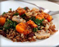 Receta de Quinoa con setas