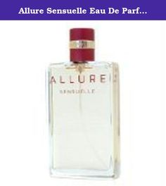 Allure Sensuelle Eau De Parfum Spray - Allure Sensuelle - 50ml/1.7oz. Product Description A Soft Oriental Floral edition of ALLURE fragrance Embraces you with fresh, timeless floral, woody & fruity scent Sensual with a blend of Vanilla & Amber Patchouli Warm & airy Sunny Spicy facet ? both fresh & provocative Diffuses the refined mystery of the Orient - Allure Sensuelle.