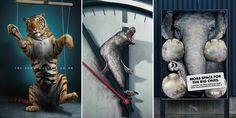 33 Powerful Animal Ad Campaigns That Tell The Uncomfortable Truth--let's be the voice for the voiceless. This unnecessary hurt needs to stop. Let's love and respect the earth and its creatures!