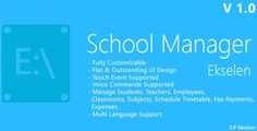 Ekselen - School Management System - CS Version (Project Management Tools)