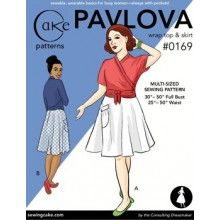 Cake Patterns - Pavlova Wrap Top and Skirt