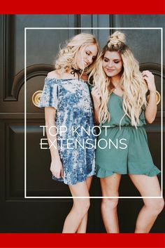 Top Knot Extensions TK Clip-Ins for AWESOME braids!
