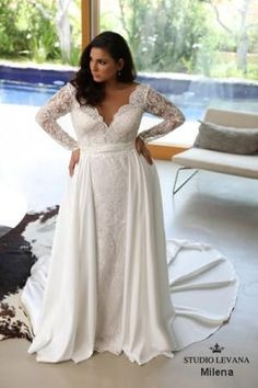 Plus size wedding gowns 2018 Milena (7)