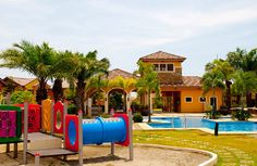 THE PONTICELLI CLUBHOUSE  The Ponticelli Clubhouse is like a first class country club in its amenities. The Clubhouse boasts of a function hall for your family's celebrations such as birthday parties, a large pool inspired by Roman baths, and a fun playground for the little ones. No longer shall you need to go out of town for a fun-filled weekend!