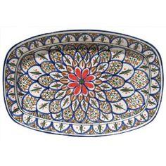 Le Souk Ceramique Side Plates Set Of 4 Tabarka Design By Le Souk