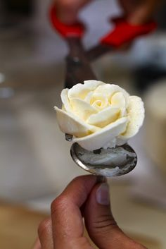 Buttercream Roses With Video Tutorial