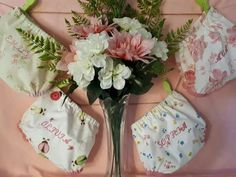 Embroidered Bloomers