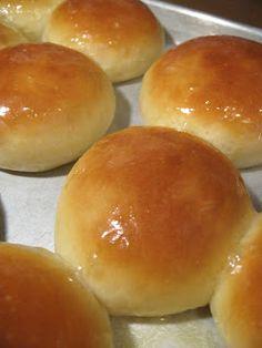 Hamburger Buns   Babushka's Kitchen