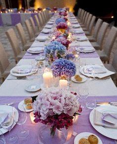 b0458926c2bb Summer wedding. Pink and violet Hidrangea. Italian wedding.  www.nozzeedintorni.com. nozzeedintorni · nozze e dintorni wedding style